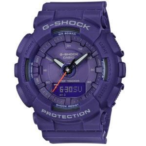 Мъжки часовник CASIO G-SHOCK GMA-S130VC-2AER. Водоустойчив 20 БАРА, Син, Полимерна, Комбиниран. Гаранция 24 месеца. Безплатна доставка. Виж цена.