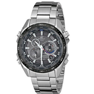 Мъжки часовник CASIO EDIFICE SOLAR EQS-500DB-1A1, Сребрист