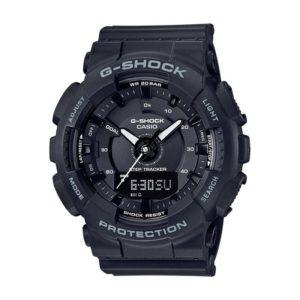 Унисекс Часовник Casio G-Shock GMA-S130-1AER. 20 БАРА (BAR), Черен, Комбиниран, Полимерна. Гаранция 24 месеца. Безплатна Доставка. Виж цена.