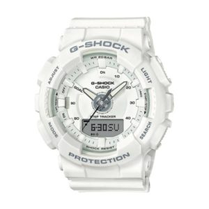 Унисекс Часовник Casio G-Shock GMA-S130-7AER. Бял, 20 БАРА (BAR), Комбиниран, Полимерна. Гаранция 24 месеца. Безплатна доставка. Виж цени.