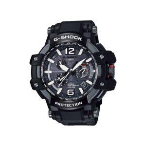 Мъжки часовник Casio G-Shock GRAVITYMASTER GPW-1000FC-1AER. GPS, 20 БАРА, Соларен, Черен, Аналогов, Сапфир, Полимерна.24 месеца гаранция.Безплатна доставка.