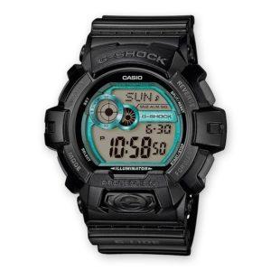 Мъжки часовник Casio G-Shock GLS-8900-1ER. 20 БАРА (BAR), С батерия, Полимерна, Черен, Дигитален. 24 месеца гаранция. Безплатна доставка. Виж цена.