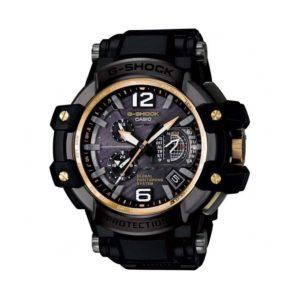 Мъжки часовник Casio G-Shock GPW-1000FC-1A9ER. 20 БАРА (BAR), Соларен Черен, Голям, Сапфир, Полимерна. 24 месеца гаранция. Безплатна доставка. Виж цена.