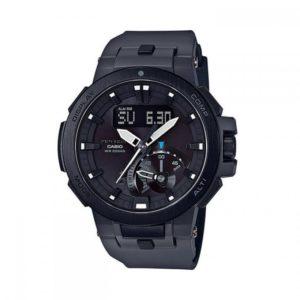 Мъжки часовник CASIO Pro Trek PRW-7000-8ER.20 Бара (BAR), Соларен, Черен, Комбиниран. Гаранция 24 месеца. Безплатна доставка. Купи сега от GiftoBG.