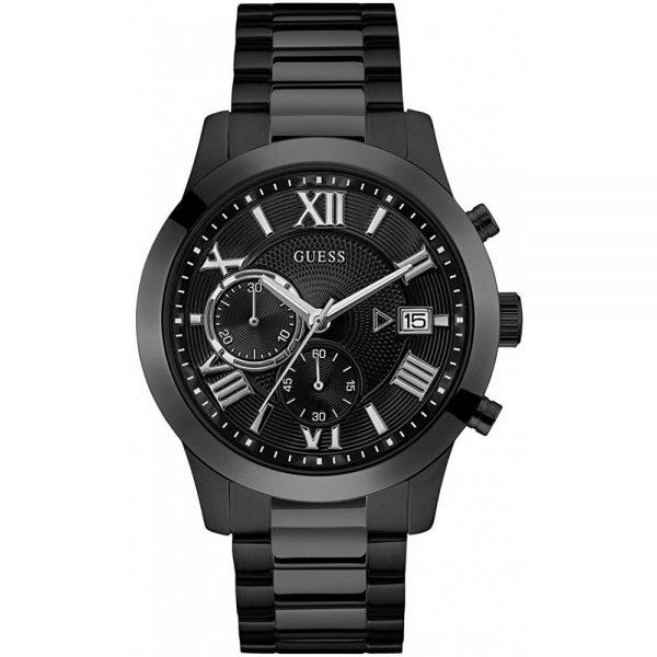 Мъжки часовник Guess Atlas Chronograph - W0668G5